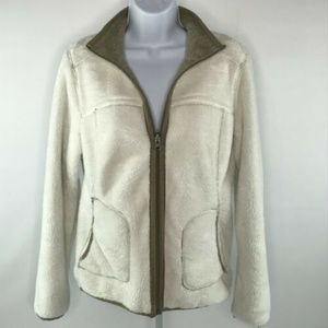 Keren Hart Womens Reversible Jacket Fleece Size S